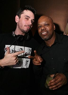 DJ AM and Too $hort at PURE on St. Patrick's Day