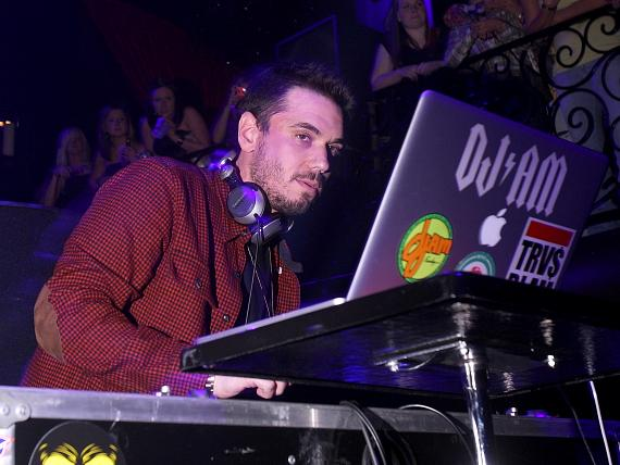 DJ AM performing at LAX Nightclub