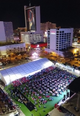 "The D Casino Hotel Throws Monumental ""Big Game Bash"" at the Downtown Las Vegas Events Center"