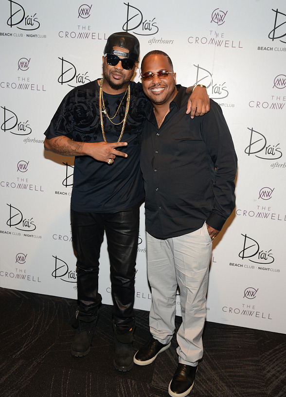 The-Dream, Tricky Stewart and Stevie Wonder Launch Contra Paris Sundays at Drai's Beach Club & Nightclub