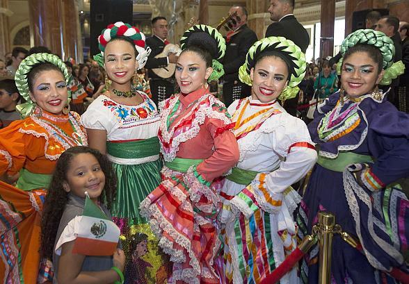 Mariachi, Folkloric Dancers to Fill The Forum Shops at Caesars Palace for El Grito Ceremony Kicking off Mexican Independence Day Celebration Sept. 15