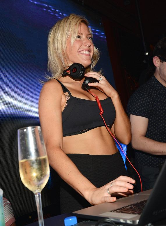Ellie Goulding spins at Surrender Nightclub