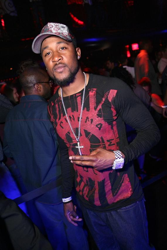 Arizona Cardinal Eric Green at LAX Nightclub
