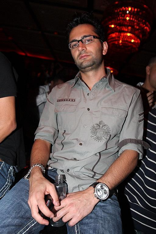 Poker player Antonio Esfandiari (Photo credit: Hew Burney)