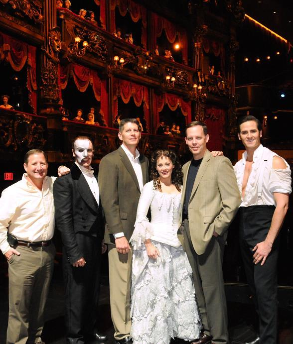 "Nellis Air Force Base Senior Military Leaders Attend ""Phantom--The Las Vegas Spectacular"""
