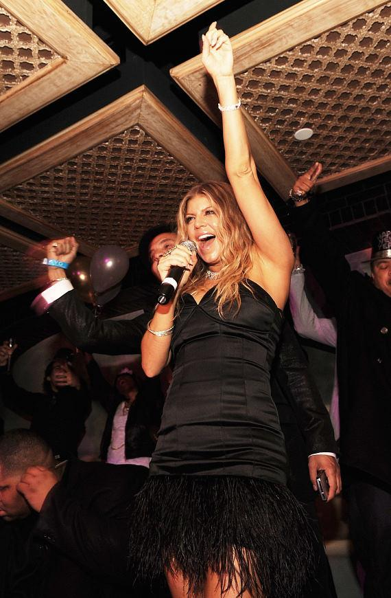 Fergie at LAVO in The Palazzo (Photo credit: Denise Truscello)