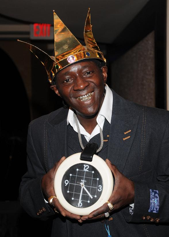 Flavor Flav signs new nook at Las Vegas Hilton