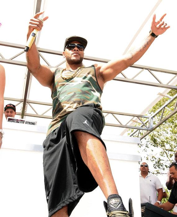 Flo Rida performs for Ditch Fridays at Palms Pool & Bungalows