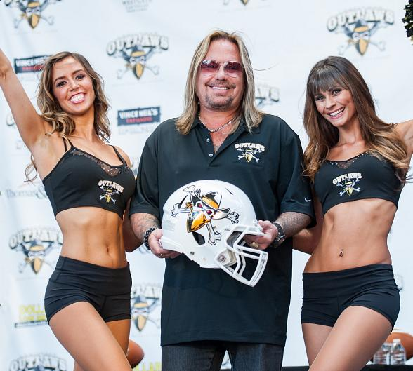 Vince Neil to Sing National Anthem for First Las Vegas Outlaws Game Monday, March 30
