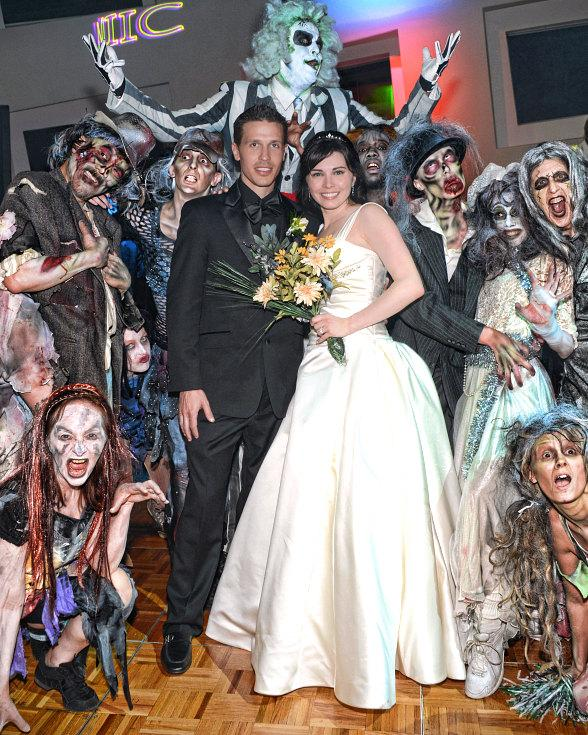 Fright Dome Owner Jason Egan Marries Dr. Nicole-Ann Cavenagh