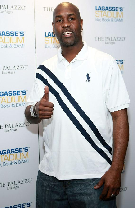 Gary Payton at Lagasse's Stadium at The Palazzo