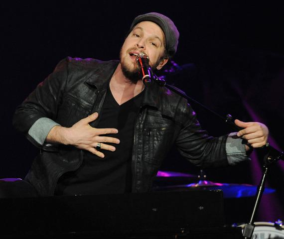 Gavin DeGraw performs at Mark & Mercedes' Not So Silent Night at The Joint