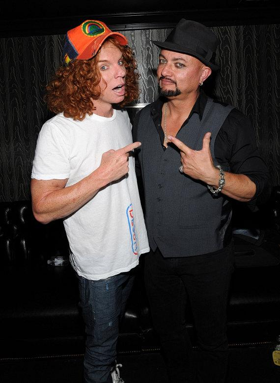 Carrot Top and Geoff Tate at Body English at Hard Rock Hotel & Casino