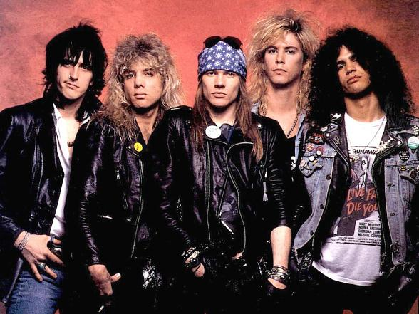 Guns N' Roses early days