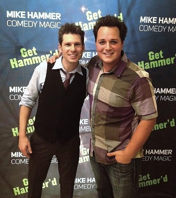 Magicians Mike Hammer and Michael Turco