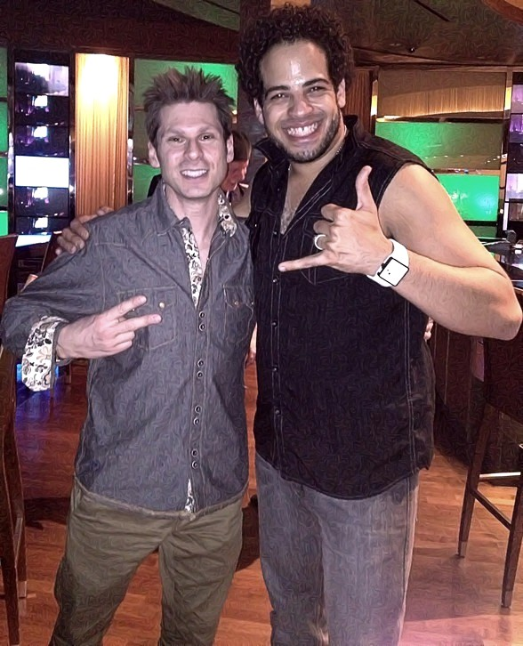 Magician Mike Hammer and Musician Jeremy Cornwell