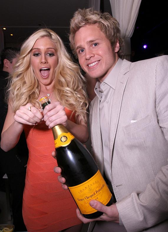 Heidi Montag and Spencer Pratt spend Valentine's Day at PURE Nightclub