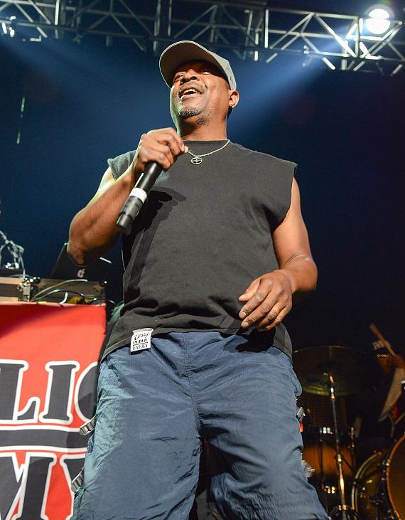 Chuck D performs at The Joint at Hard Rock Las Vegas