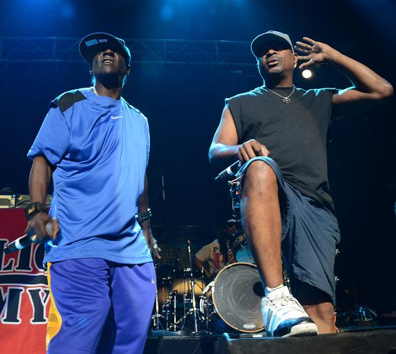 Flavor Flav and Chuck D at The Joint at Hard Rock Las Vegas