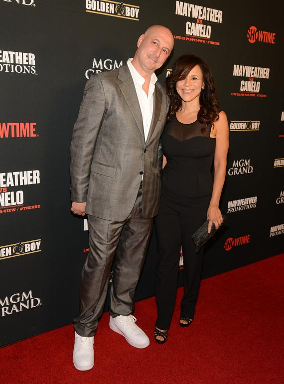 Eric Haze and Rosie Perez