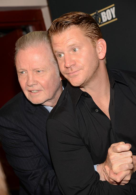 Jon Voight and Dash Mihok