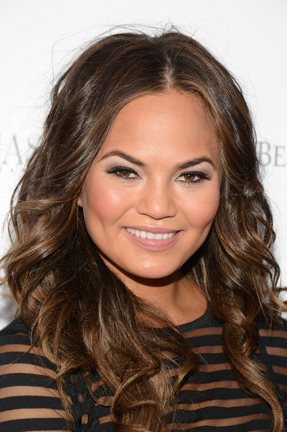 Chrissy Teigen at Azure Luxury Pool at The Palazzo