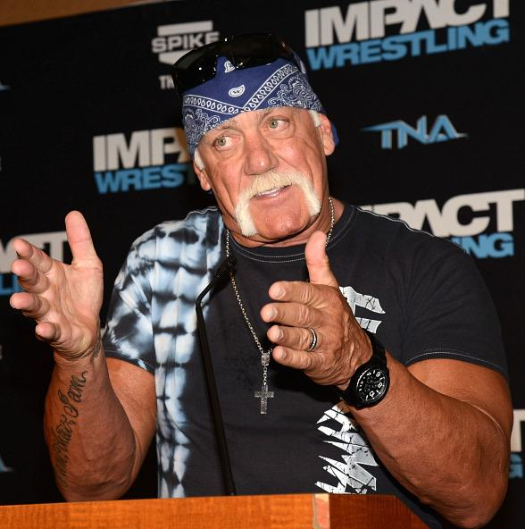 Hulk Hogan Welcomes TNA Impact Wrestling to Orleans Arena in Las Vegas