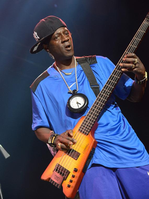 Flavor Flav performs at The Joint at Hard Rock Las Vegas
