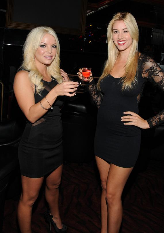 Chelsea Ryan and Heather Rae Young at Crazy Horse III