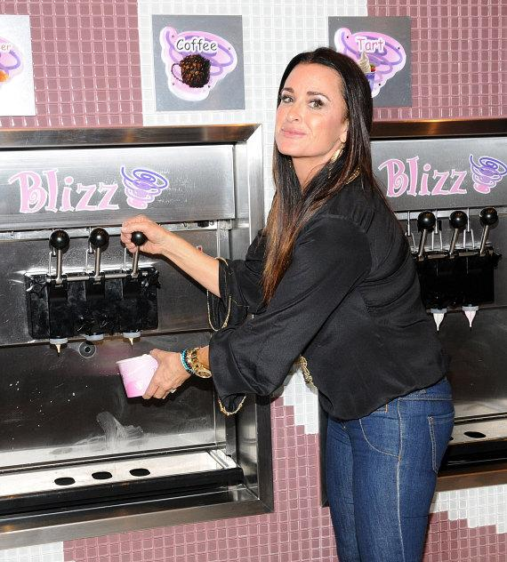 Kyle Richards at Blizz machine