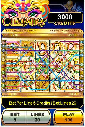 Cleopatra Game on New M life Players Club iPhone, iPad and iPod