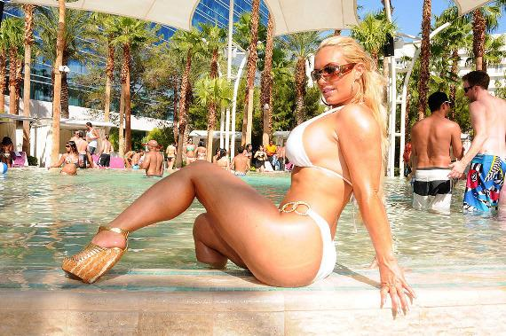 Ice T and Coco Relax at Rehab at the Hard Rock Hotel