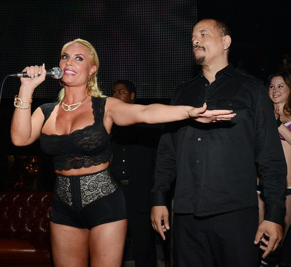 Coco and Ice T at Body English Nightclub