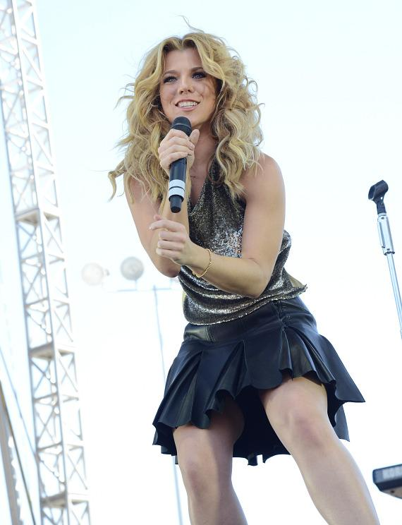 Kimberly Perry of The Band Perry at iHeartRadio Village in Las Vegas