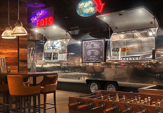 Bud Bud's, a refurbished Airstream trailer