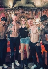 "Singer-Songwriter Ellie Goulding Spotted at ""Magic Mike Live Las Vegas"""