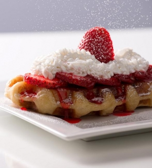 Waffle Bar Inside Tivoli Village Serving Up Authentic Liege Waffles and Crepes