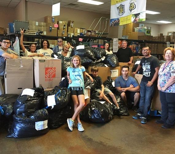 Project 150 and KLAS-TV 8 News NOW Donation Drive Gives Homeless High School Students Big Boost