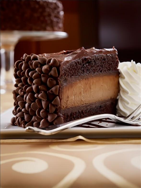 Hershey's Chocolate Bar Cheesecake at The Cheesecake Factory