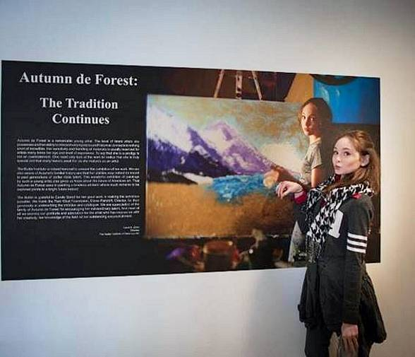 Child Prodigy Autumn de Forest Exhibits this Week in Las Vegas; 15 Year Old Presents: