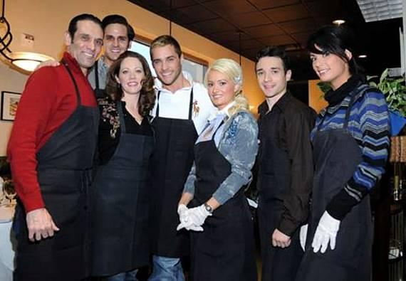 Cast Members from Peepshow, Phantom and Jersey Boys