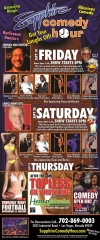 Johnny Hollywood to Headline Sapphire Comedy Hour Sept 19; Lance Montalto on Sept 20
