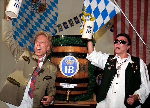 Hofbräuhaus Las Vegas Celebrates 9th Annual Oktoberfest with Siegfried & Roy September 15