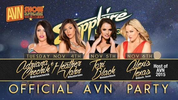 Official AVN Party at Sapphire Las Vegas