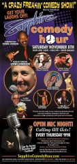 Lenny Windsor to Headline Sapphire Comedy Hour on Saturday, Nov. 8