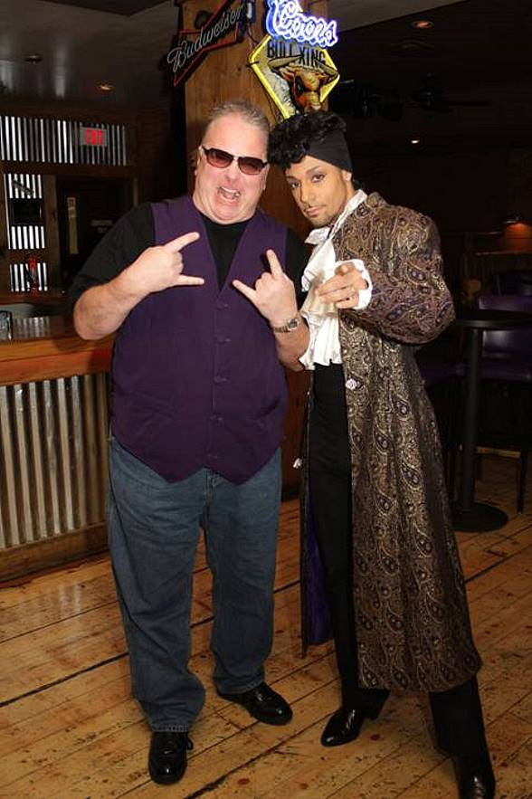 """Kevin Burke and Jason Tenner as """"Prince"""""""