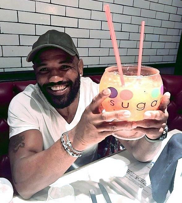 UFC Fighter Yoel Romero at Sugar Factory American Brasserie Fashion Show Las Vegas