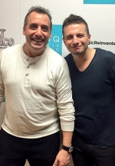 """Impractical Jokers"" star Joe Gatto attends ""Mat Franco – Magic Reinvented Nightly"" at The LINQ Hotel & Casino"
