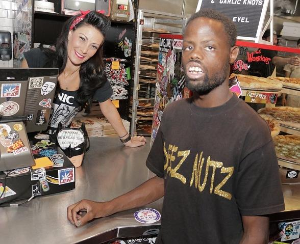 """Deez Nuts"" Sensation Welven Da Great Spotted at Evel Pie in Las Vegas"