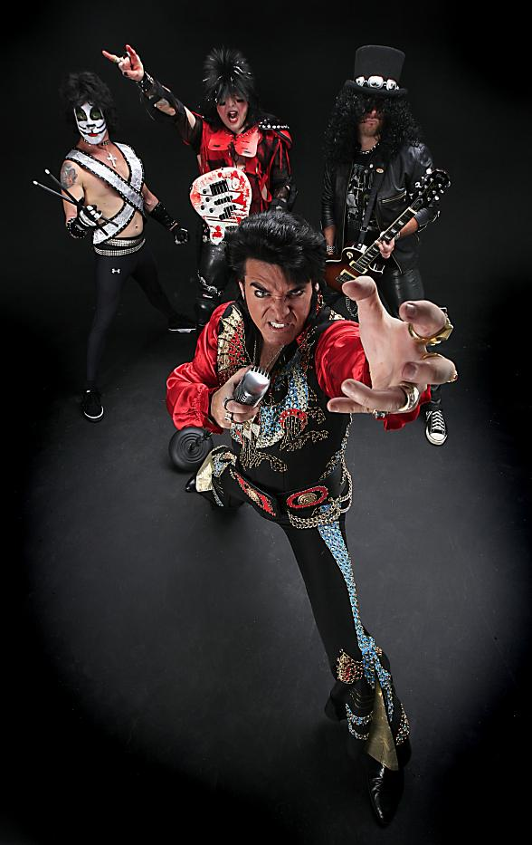 Riviera Hotel Welcomes The Metal King and Monsters of Rock to Honor 35th Anniversary of Elvis Presley's Death
